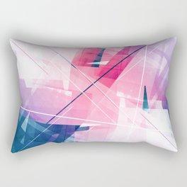 Enlighten - Geometric Abstract Art Rectangular Pillow
