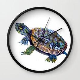 Slider Baby Turtle artwork Wall Clock
