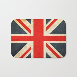 Vintage Union Jack British Flag Bath Mat