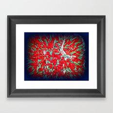 tulps Framed Art Print