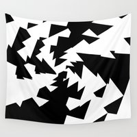 illusion Wall Tapestries featuring Illusion by duqdey16