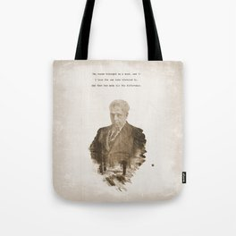 The One Less Traveled By Tote Bag