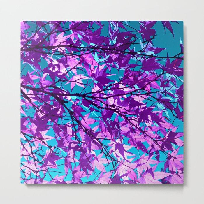 purple tree XXII Metal Print