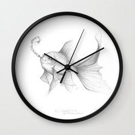 « Comme un poisson » Wall Clock