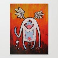doom Canvas Prints featuring Doom by Matt Sinor