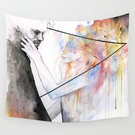 two different lights Wall Tapestry