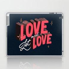 Love & Let Love Laptop & iPad Skin
