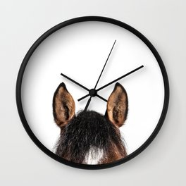 Wanna ride now? Wall Clock