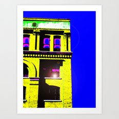 Texas School Book Depository Art Print