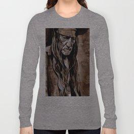 Sepia Willie Long Sleeve T-shirt
