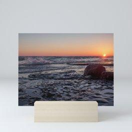 Sandbanks Sunset 2 Mini Art Print