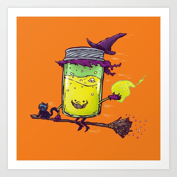 The Witch Jam Art Print
