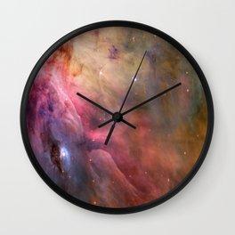 Orion Nebulae Wall Clock