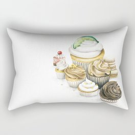 Sweet Energy Cupcakes Rectangular Pillow