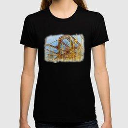 Munich Beer Festival - Roller Coaster & Ferris Wheel T-shirt