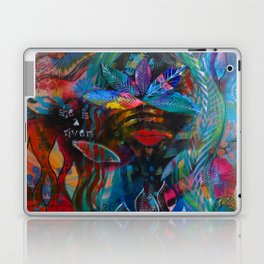 She is a River Laptop & iPad Skin