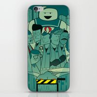 ghostbusters iPhone & iPod Skins featuring Ghostbusters by Ale Giorgini