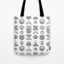 semicircle pattern Tote Bag
