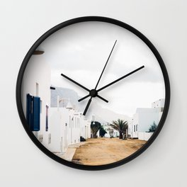Island Living Wall Clock