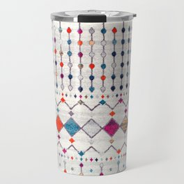 -A14- Lovely Colored Traditional Moroccan Texture Travel Mug