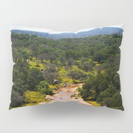 Volcano In The Distance Pillow Sham