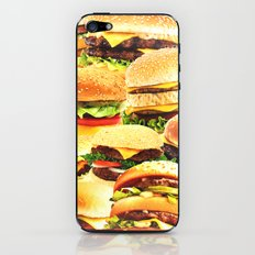 Fast food nation iPhone & iPod Skin