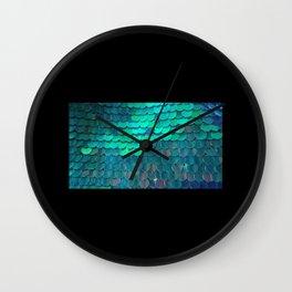 Fish Scales   Wall Clock