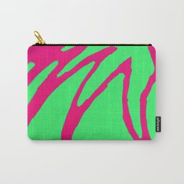Green Pink Pattern Carry-All Pouch