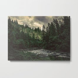 Pacific Northwest River - Nature Photography Metal Print