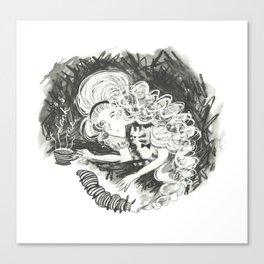 Drink me Alice Canvas Print