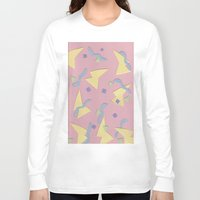 confetti Long Sleeve T-shirts featuring Confetti  by homotrippin