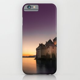 Sunset At Chillon iPhone Case
