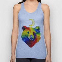 Rainbow Bear Spirit Unisex Tank Top