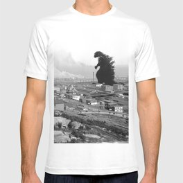 Old Time Godzilla T-shirt