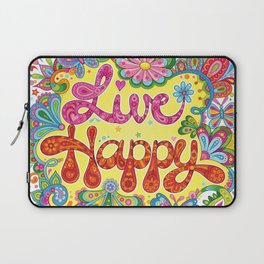 Live Happy Laptop Sleeve