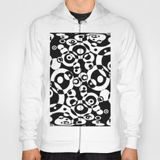 Chaos in black and white Hoody
