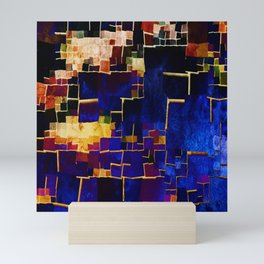 ALL BOXED IN Mini Art Print