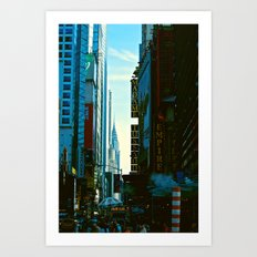 Busy City Art Print