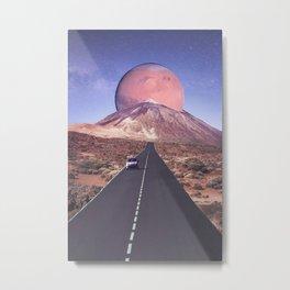 Road to Teide Metal Print