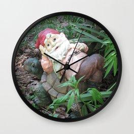 Santas Claus Gone On Vacation Wall Clock