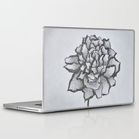 peony Laptop & iPad Skins featuring Peony by Sofia Bernikova