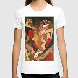 Woman with a Mandolin by Jean Metzinger T-shirt