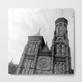 Smithsonian Castle Metal Print