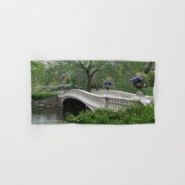 Bow Bridge Central Park New York Hand & Bath Towel