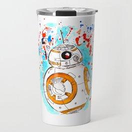 BB8 Ink Splatter Travel Mug