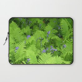 Bluebells and Ferns Laptop Sleeve