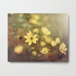 Fairy Tale Meadow Metal Print