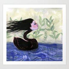 Yvonne Swan Art Print