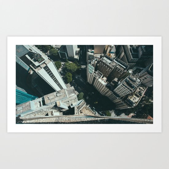 Skyscraper 5 Art Print