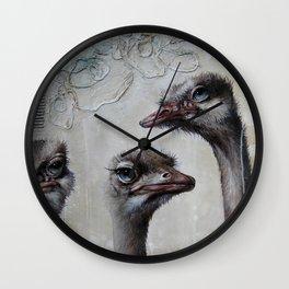 Les triplettes Wall Clock